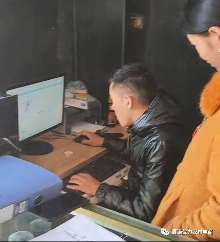囊谦县物流中心赴乡村开展站点人员 实操培训及复查工作