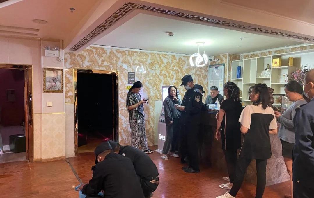 囊谦县市场监督管理局在重点行业开展禁毒排查及宣传教育工作