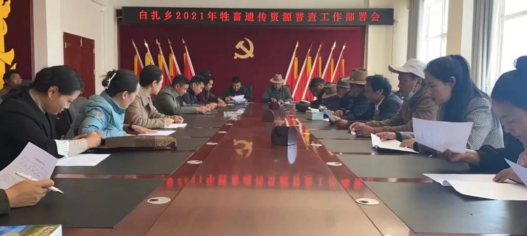 (白扎乡)召开2021年牲畜遗传资源普查工作部署会议